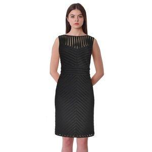 Lauren Ralph Lauren Chevron Lace Sheath Dress Sz 4